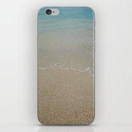 Sandy beach iPhone Skin