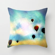Navigating the Universe Throw Pillow