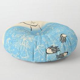 QUEEN OF WISDOM Floor Pillow