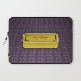 Life Is Just Great On Low Budget Too Laptop Sleeve