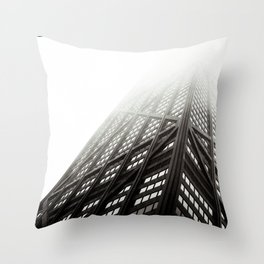 Chicago Hancock Tower Throw Pillow