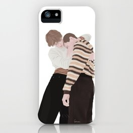 Henrik Holm and Tarjei Sandvik Moe | skam cast iPhone Case