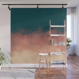 Retro Clouds Wall Mural