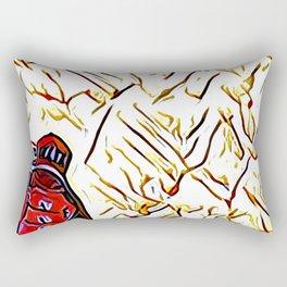 At The Movies #4 Rectangular Pillow