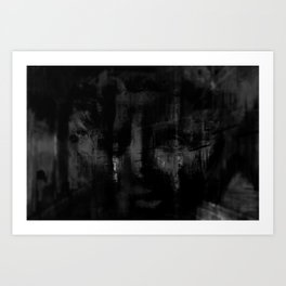 Haunted By The Past Art Print