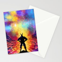 My Hero Academia Inspired Painting | ALL MIGHT Stationery Cards