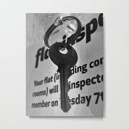 Number 17 Metal Print