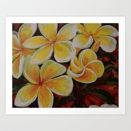 Island Blooms Art Print