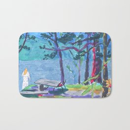 summer camp Bath Mat