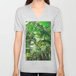 Tropical Canopy Unisex V-Neck