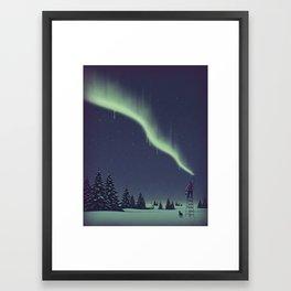 Winter Painting Framed Art Print