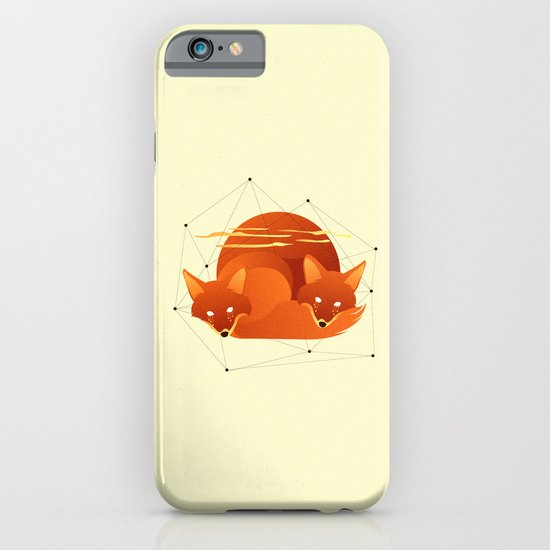 Fiery Fox iPhone & iPod Case