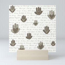 Ho'oponopono Prayer Mini Art Print