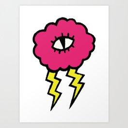 Lily Lightning Art Print