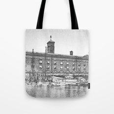 St Katherine's Dock London Art Tote Bag