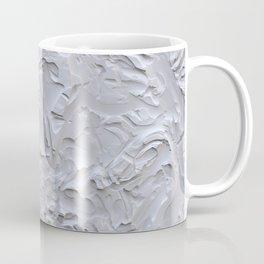 White Rough Plastering Texture Coffee Mug