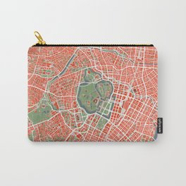 Tokyo city map classic Carry-All Pouch