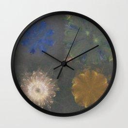 Pajama Constitution Flower  ID:16165-101448-73620 Wall Clock