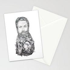 Kitten Beard Stationery Cards