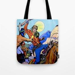 Western I Tote Bag