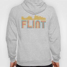 Retro Flint Michigan Skyline Hoody