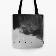 Bird migration Tote Bag