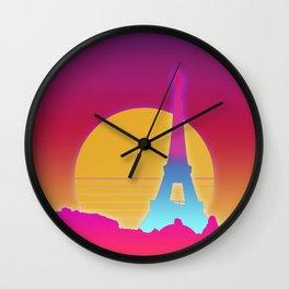 Paris Vector Wall Clock