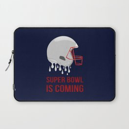 The Super Bowl Countdown Laptop Sleeve