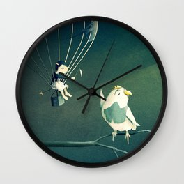 Good Old Fashioned Villain Wall Clock