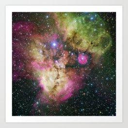 Galaxy NGC 2467 Art Print