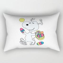 EASTER BEAGLE SNOOPY Rectangular Pillow