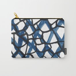 Blue Web Carry-All Pouch