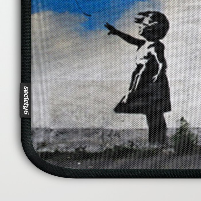 A Balloon to the Wind Laptop Sleeve