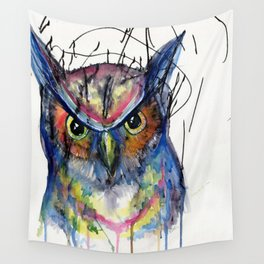 The Great Owl Wall Tapestry