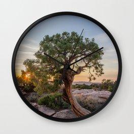 A Tree Grows Wall Clock