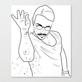 Salt Bae Canvas Print