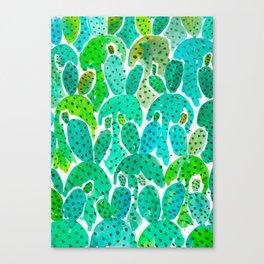 Cactus Practice Canvas Print