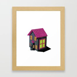 Haunted Orphanage 1 Framed Art Print