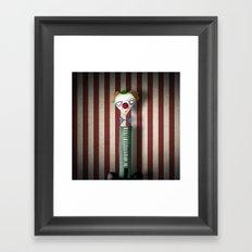 Mr Bow Framed Art Print