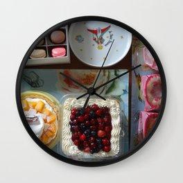Table Garden-XI Wall Clock