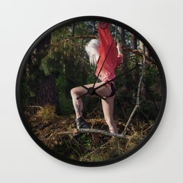 Forest Fairies Wall Clock