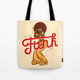 Funk Girl Tote Bag