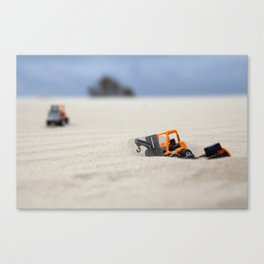 Towing Mission Canvas Print
