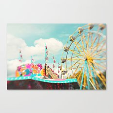 summer carnival fun Canvas Print