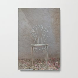 The First Chair  Metal Print