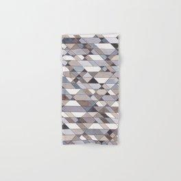 Triangle Pattern no.22 grays Hand & Bath Towel