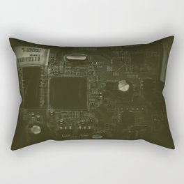 The City of Circuitry 5.0 Rectangular Pillow