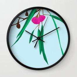 Australian Native Illustration Wall Clock