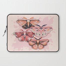 Pink Moths Laptop Sleeve