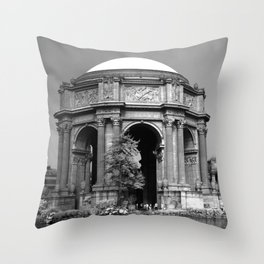 Palace Of Fine Arts - Infrared Throw Pillow